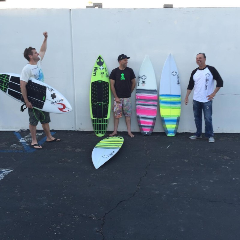 Checking by Surf RX HQ with jeffdoclausch and some ofhellip