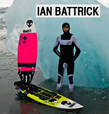 Ian Battrick wetsuits