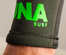 Anti flush wetsuit cuff