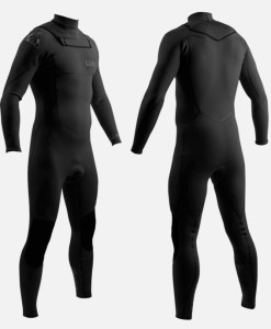 2mm wetsuit all black