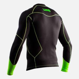 2mm wetsuit vest top back