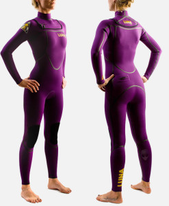 womens 3.2mm wetsuit violet