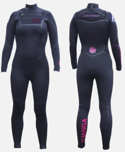 womens 5.3mm wetsuit