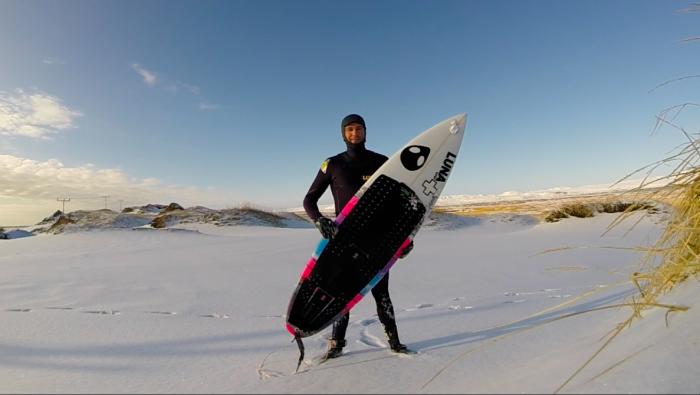 Ian 4mm hooded winter wetsuit