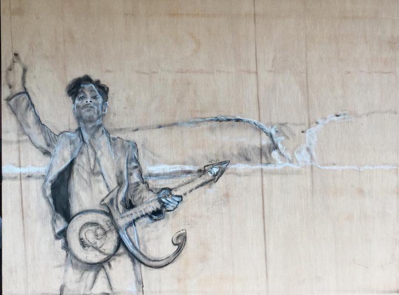 First new beginning at telosurfvilla  art artist surfart portraithellip