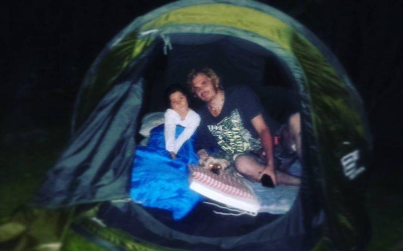 Premier  camping de kailani hehe pour la fte deshellip
