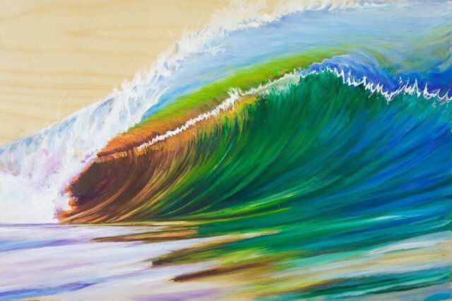 This is my latest painting inspired by the talented photographerhellip