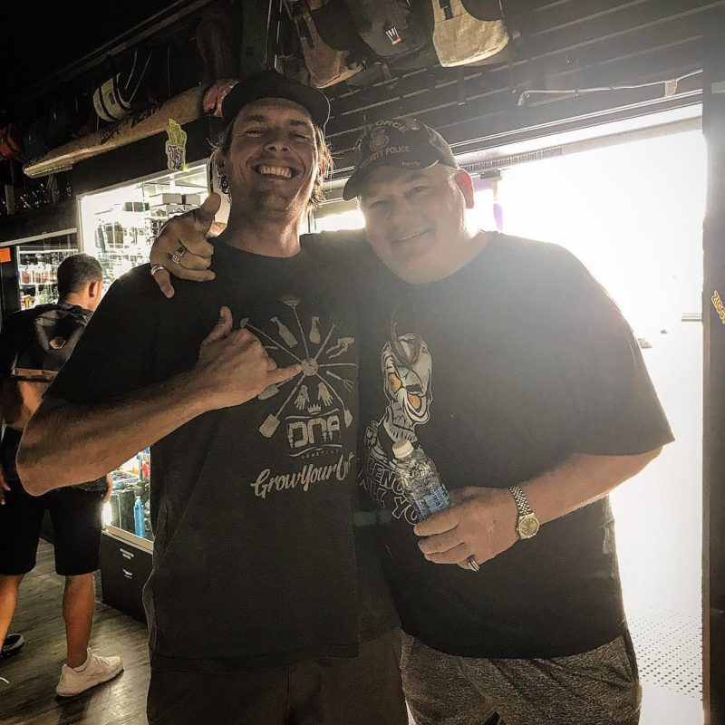 Hanging with the ledge himself How many of you pierhellip