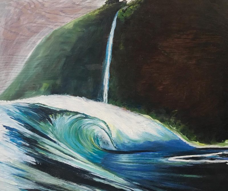Oil sketch from 2012 11x13  100 art surfart oilonwoodhellip