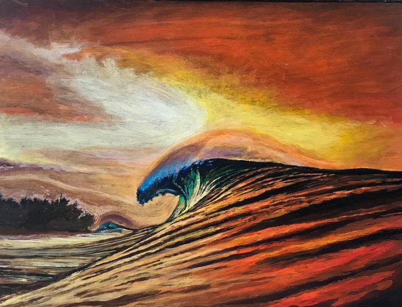 Pipe Masters Fever Oil on birch 8x12 100 inspired byhellip