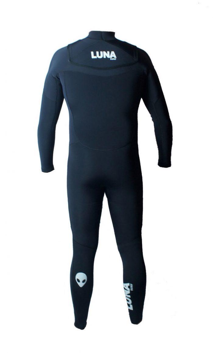 mens black wetsuit
