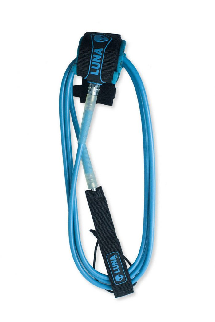 9ft_SUP_Longboard_Leash_Cyan