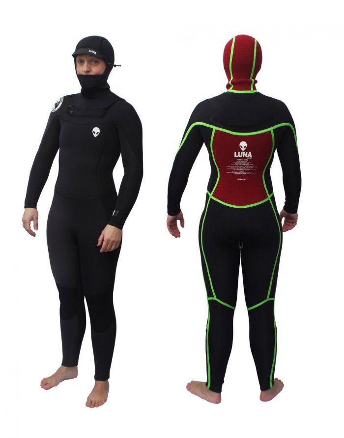 womens 6.4mm wetsuit