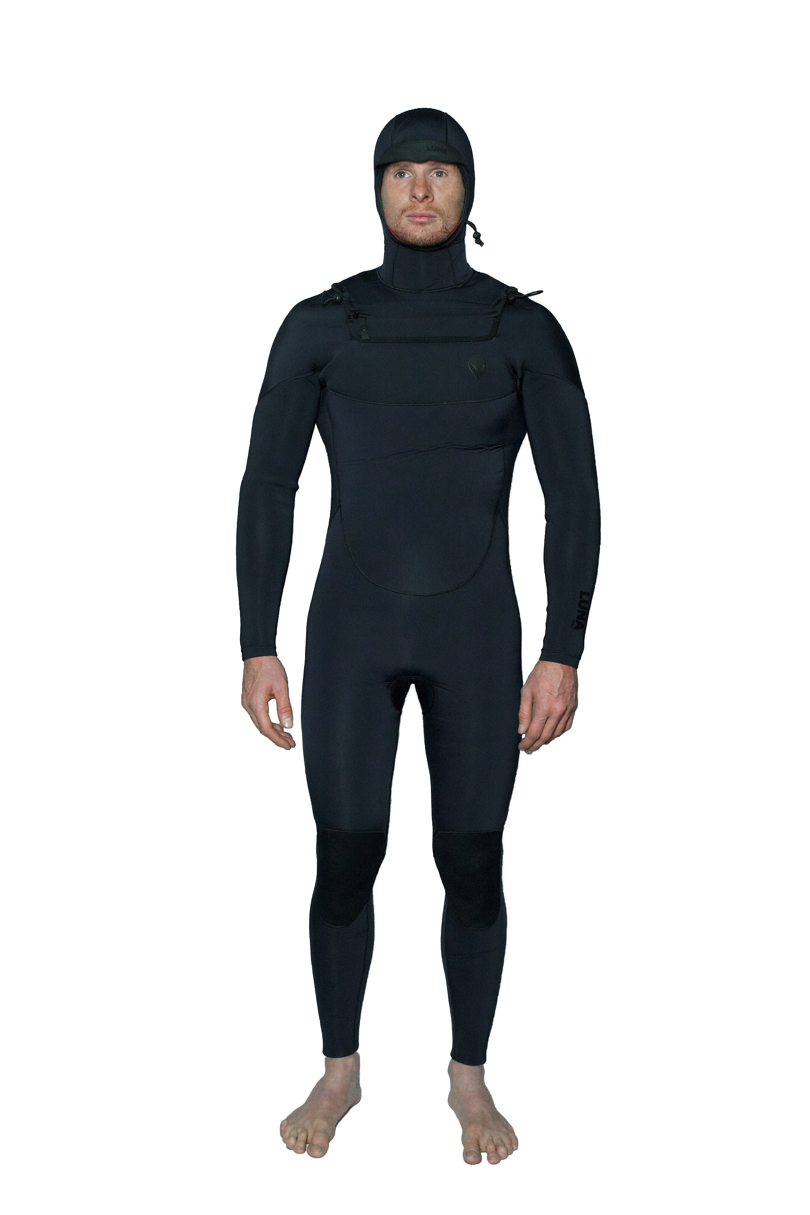 black winter wetsuit