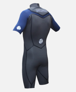 2mm shorty wetsuit side