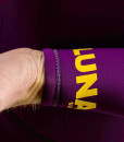 4mm hooded wetsuit cuff violet