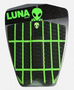 Alien crosshatch tail pad black green