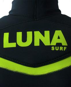 back neck logo wetsuit