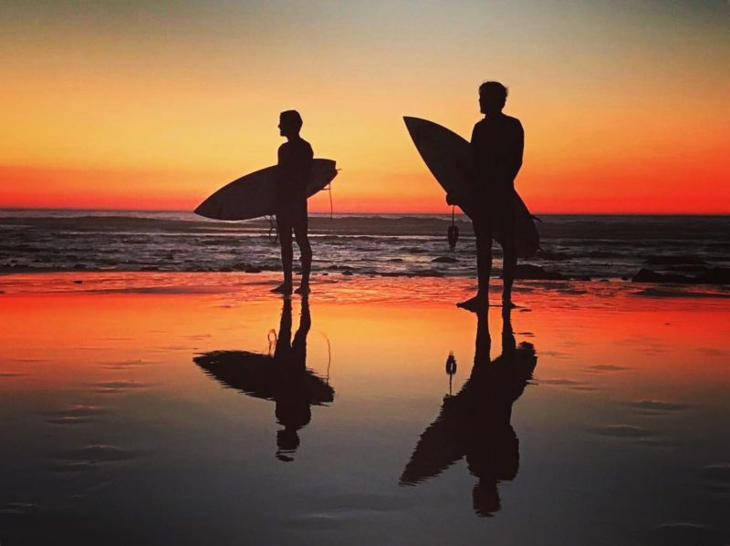 Happy place Surfing all day with my brother reubynash nealehaynes