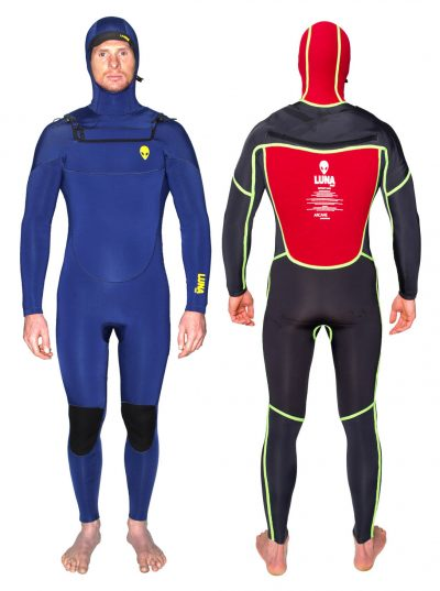 ink blue wetsuit